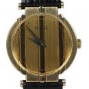 PIAGET(피아제) 18K(750) 옐로우 골드 폴로 여성용 가죽 시계[광주1]