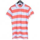 Polo Ralphlauren(폴로) 스트라이프 패턴 여성용 피케 폴로 티셔츠 [강남본점]