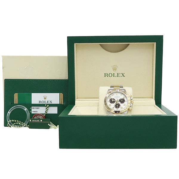 Rolex(로렉스) 116523 COSMOGRAPH(코스모 그래프) DAYTONA(데이토나) 18K 옐로우골드 콤비 오토매틱 남성용시계 [강남본점]