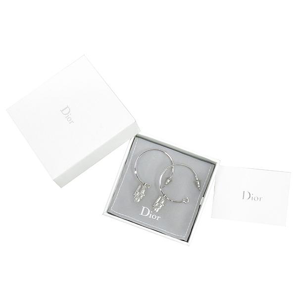 Dior(크리스챤디올) D60700 큐빅 로고 장식 펜던트 귀걸이 [강남본점]