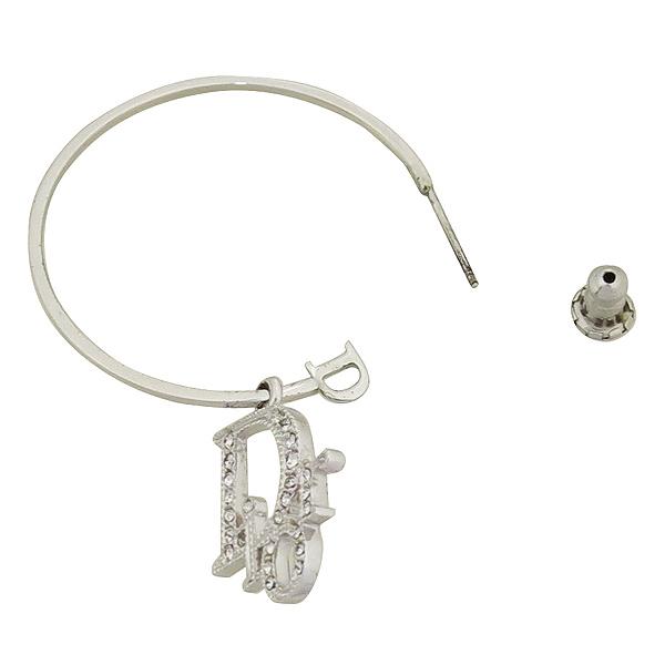 Dior(크리스챤디올) D60700 큐빅 로고 장식 펜던트 귀걸이 [강남본점] 이미지3 - 고이비토 중고명품