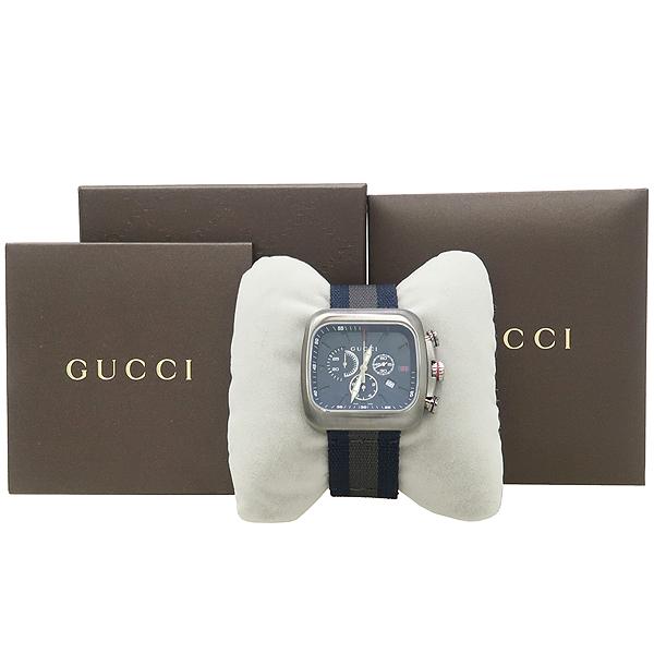 Gucci(구찌) YA131203 쿠페 크로노그래프 남성용 시계 [강남본점]