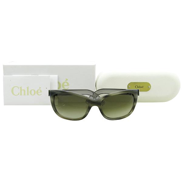 Chloe(끌로에) CL2175 측면 로고 장식 뿔테 여성용 선글라스 [강남본점]