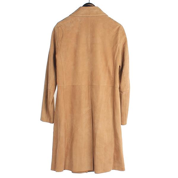 THEORY(띠어리) 114845673 브라운 스웨이드 PIAZZA 여성용 코트 [강남본점] 이미지4 - 고이비토 중고명품
