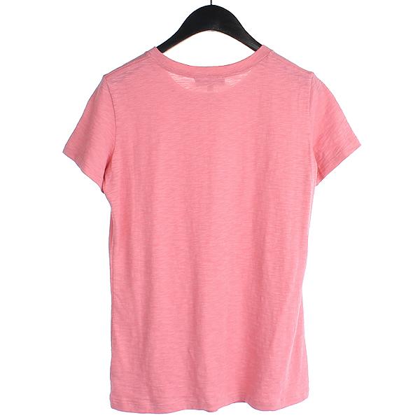 THEORY(띠어리) 면 100% 핑크 컬러 여성용 반팔 티 [강남본점] 이미지3 - 고이비토 중고명품