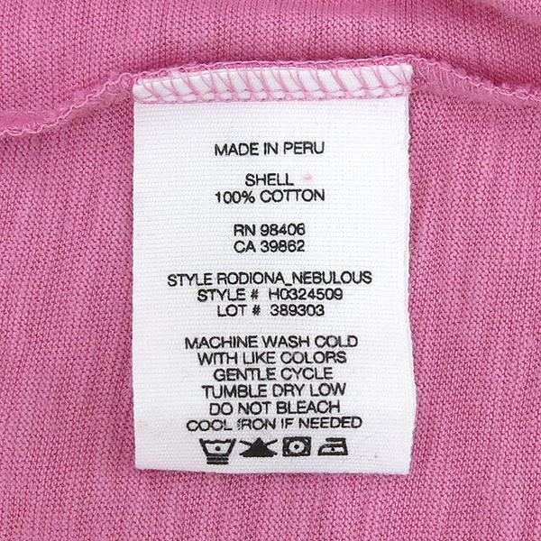 THEORY(띠어리) 면 100% 핑크 컬러 여성용 반팔 티 [강남본점] 이미지5 - 고이비토 중고명품