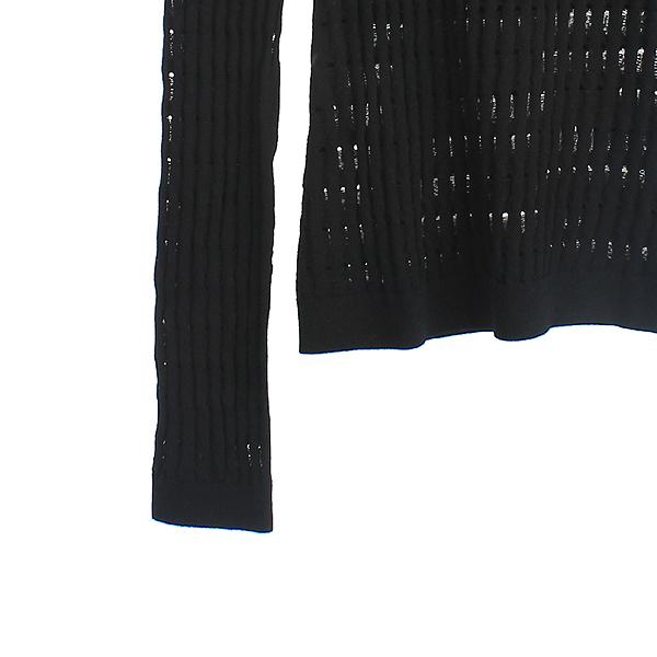 Alexanderwang(알렉산더왕) 비스코스 혼방 블랙 컬러 시스루 포인트 여성용 티 [강남본점] 이미지3 - 고이비토 중고명품