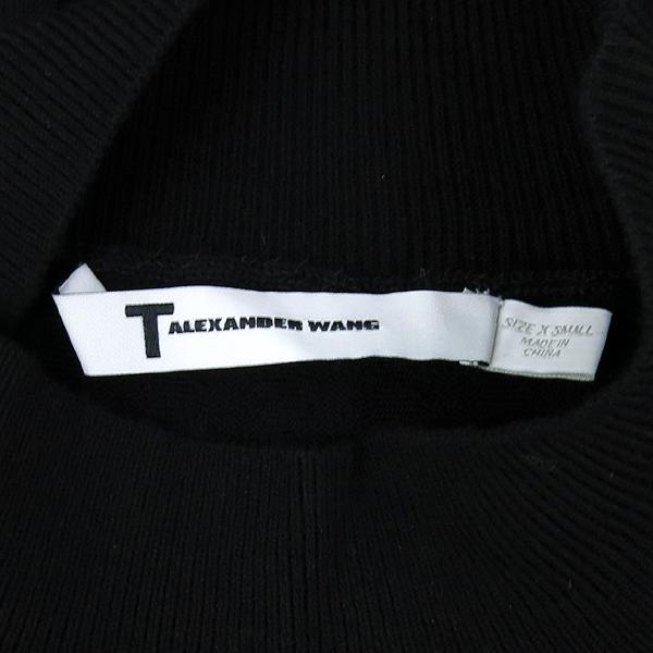 Alexanderwang(알렉산더왕) 비스코스 혼방 블랙 컬러 시스루 포인트 여성용 티 [강남본점] 이미지5 - 고이비토 중고명품