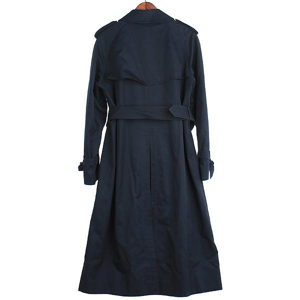 Burberry(버버리) 런던 네이비 컬러 면 혼방 트렌치 코트 [강남본점] 이미지4 - 고이비토 중고명품
