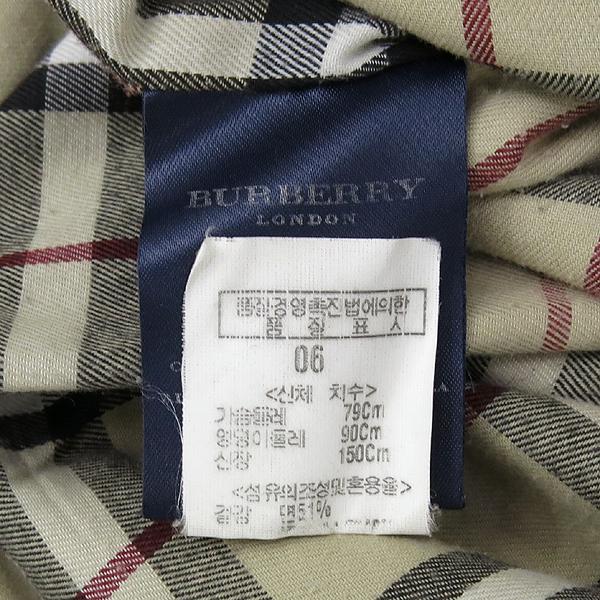 Burberry(버버리) 런던 네이비 컬러 면 혼방 트렌치 코트 [강남본점] 이미지6 - 고이비토 중고명품