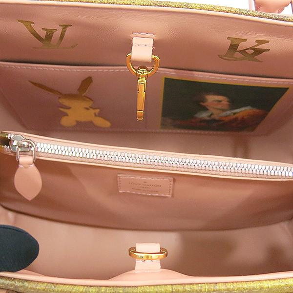 Louis Vuitton(루이비통) M43386 FRAGONARD 장 오노레 프라고나르 마스터즈 컬렉션 [소녀와 강아지] 몽테뉴 MM 토트백 + 숄더스트랩 2WAY [대구동성로점] 이미지4 - 고이비토 중고명품