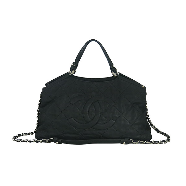 Chanel(샤넬) A67041 크루즈컬렉션 COCO 로고 퀼팅 스티치 스파클 레더 은장 체인 2WAY [동대문점] 이미지2 - 고이비토 중고명품
