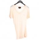 Vivienne_Westwood(비비안 웨스트우드) 마 100% 핑크 컬러 ORB 포인트 여성용 반팔 티 [강남본점]