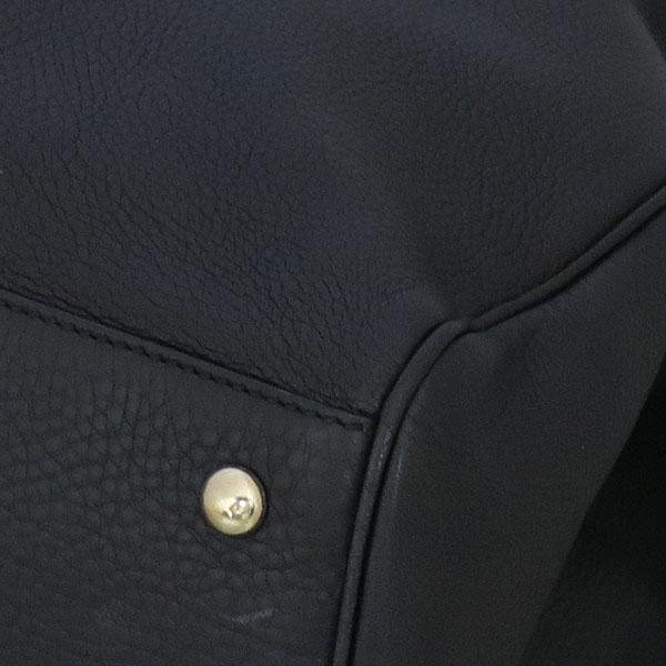 Gucci(구찌) 323658 블랙 컬러 레더 뱀부 핸들 토트백 + 숄더 스트랩 [동대문점] 이미지4 - 고이비토 중고명품