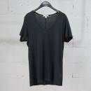 Burberry(버버리) 면 100% 블랙 컬러 여성용 브이넥 티셔츠 [동대문점]
