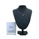 Dior(크리스챤디올) 은장 로고 이니셜 목걸이 [부산센텀본점]