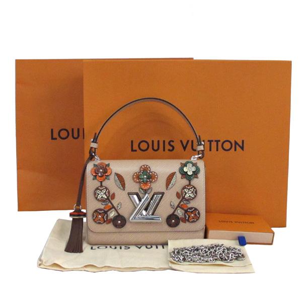 Louis Vuitton(루이비통) M53524 스네이크 패치 플로럴 디테일 트위스트 에삐 MM 은장 체인 숄더백 [대구반월당본점]