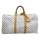 Louis Vuitton(루이비통) N41430 다미에 아주르 캔버스 키폴 50 여행용 보스턴 토트백 [부산센텀본점]