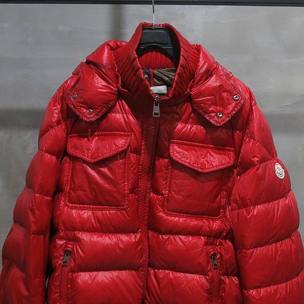 MONCLER(몽클레어) FEDOR GIUBBOTTO 레드컬러 다운 여성용 패딩 자켓 [인천점] 이미지2 - 고이비토 중고명품