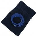 Swarovski(스와로브스키) 블루 컬러 큐빅장식 초커 목걸이 [강남본점]