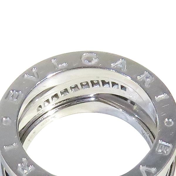 Bvlgari(불가리) B-ZERO1 18K 화이트 골드 라운드 다이아몬드세팅 반지 - 11호 [강남본점] 이미지3 - 고이비토 중고명품