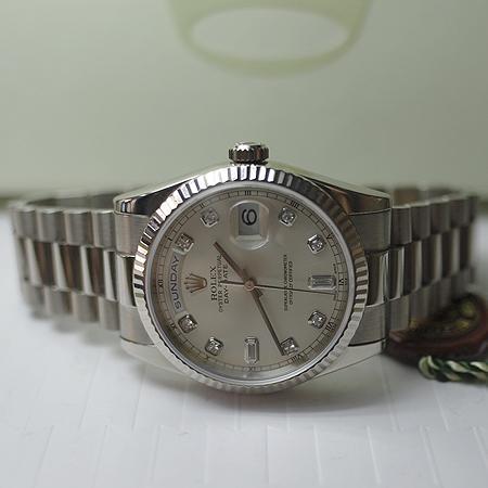 Rolex(로렉스) 118239 18K 화이트골드 데이 데이트 36mm 남성용 시계 (W) 이미지2 - 고이비토 중고명품