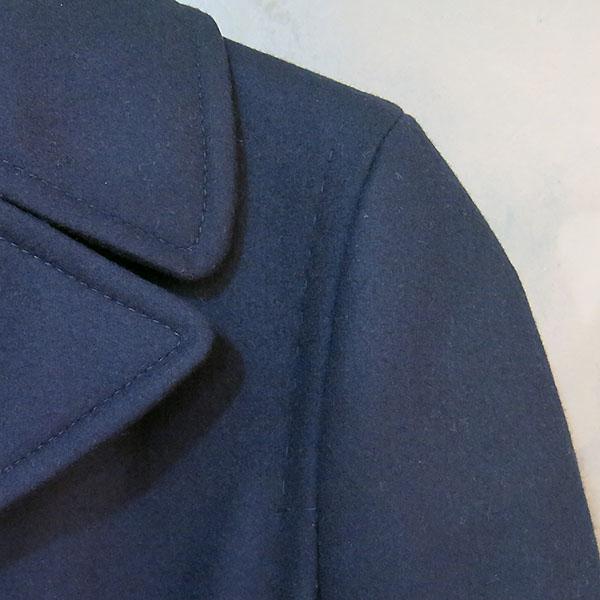 VALENTINO(발렌티노) 네이비 컬러 더블 남성용 반 코트 [대구동성로점] 이미지3 - 고이비토 중고명품