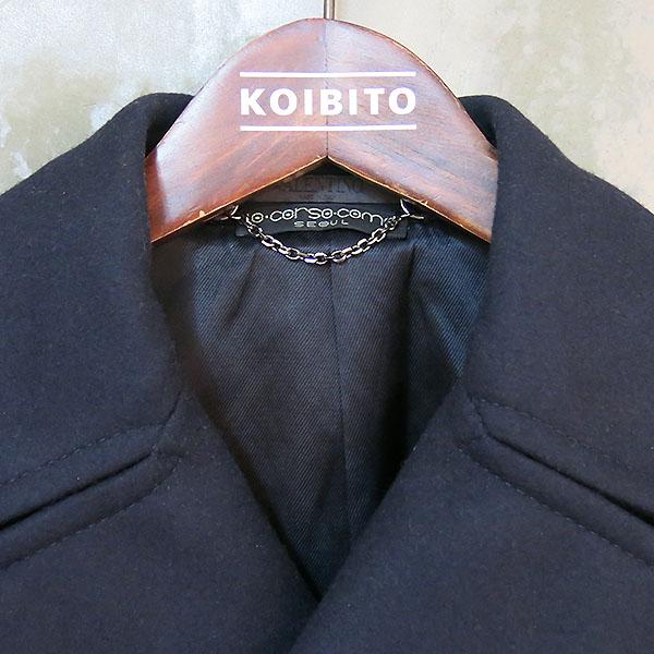 VALENTINO(발렌티노) 네이비 컬러 더블 남성용 반 코트 [대구동성로점] 이미지4 - 고이비토 중고명품