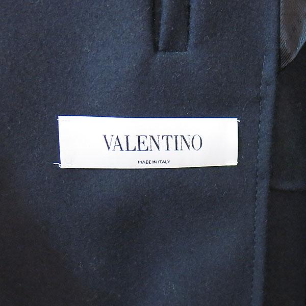 VALENTINO(발렌티노) 네이비 컬러 더블 남성용 반 코트 [대구동성로점] 이미지5 - 고이비토 중고명품