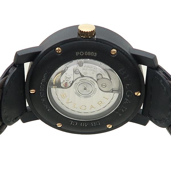 Bvlgari(불가리) BBP40C11CGLD 카본 골드 오토매틱 가죽밴드 시계 [대전본점] 이미지4 - 고이비토 중고명품