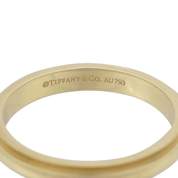 Tiffany(티파니) 18K(750) 옐로우 골드 밀그레인 3MM 반지 18호 [강남본점] 이미지3 - 고이비토 중고명품