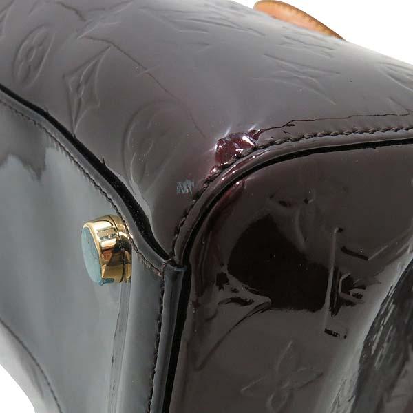 Louis Vuitton(루이비통) M91616 모노그램 베르니 아마랑뜨 브레아 GM 토트백 + 숄더 스트랩 [인천점] 이미지4 - 고이비토 중고명품