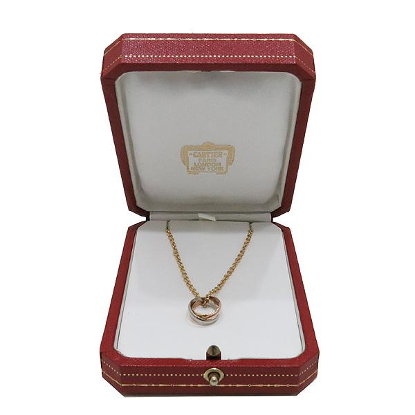 Cartier(까르띠에) B7224574 18K(750) 골드 3색 트리니티 링 팬던트 네크리스 목걸이 [인천점]