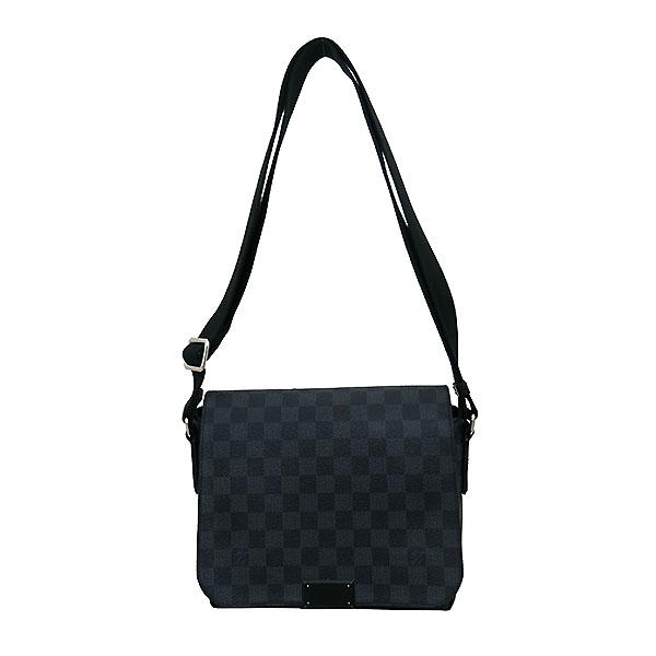 Louis Vuitton(루이비통) N41260 다미에 그라피트 캔버스 디스트릭트 PM 크로스백 [부산센텀본점] 이미지2 - 고이비토 중고명품