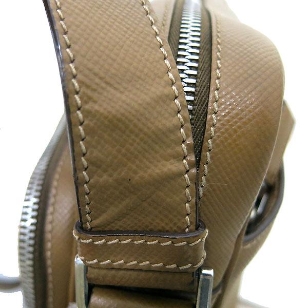 Prada(프라다) VA1066 사피아노 카멜 컬러 메신저 크로스백 [부산센텀본점] 이미지4 - 고이비토 중고명품