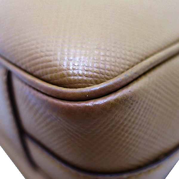 Prada(프라다) VA1066 사피아노 카멜 컬러 메신저 크로스백 [부산센텀본점] 이미지5 - 고이비토 중고명품