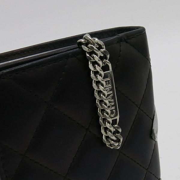 Chanel(샤넬) A50080Y07197 블랙 COCO 로고 깜봉 컴팩트 짚업 중지갑 [강남본점] 이미지4 - 고이비토 중고명품