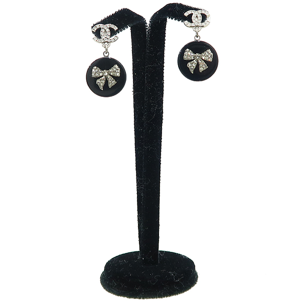 Chanel(샤넬) COCO 디테일 규빅 장식 귀걸이 [강남본점]