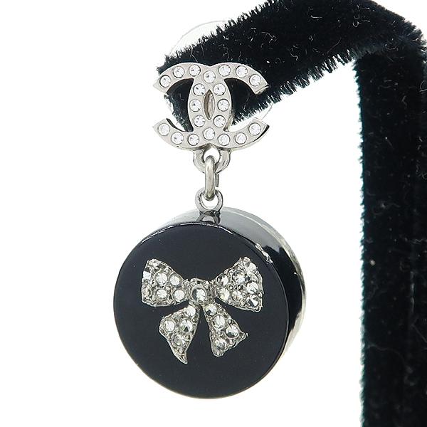 Chanel(샤넬) COCO 디테일 규빅 장식 귀걸이 [강남본점] 이미지2 - 고이비토 중고명품