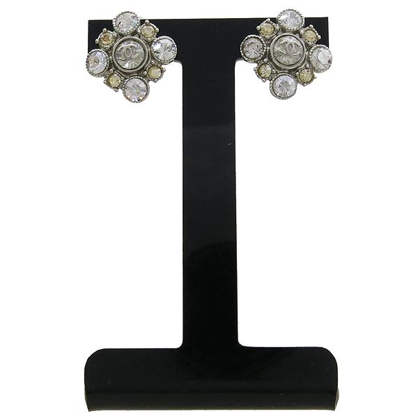 Chanel(샤넬) COCO 은장 큐빅 디테일 장식 귀걸이 [강남본점] 이미지2 - 고이비토 중고명품