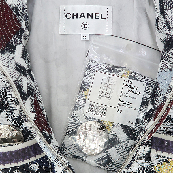 Chanel(샤넬) 2016F/W P53828 트위드 여성용 자켓 [강남본점] 이미지5 - 고이비토 중고명품