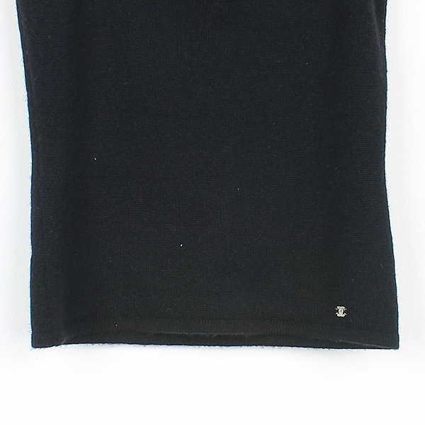 Chanel(샤넬) 크리스탈 장식 100% 캐시미어 여성용 나시 [강남본점] 이미지3 - 고이비토 중고명품