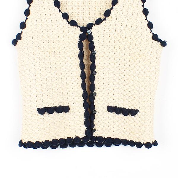 Chanel(샤넬) 캐시미어 혼방 여성용 조끼 [강남본점] 이미지3 - 고이비토 중고명품