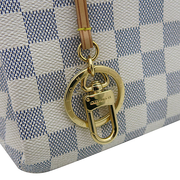 Louis Vuitton(루이비통) N41174 다미에 아주르 캔버스 앗치MM 숄더백 [부산센텀본점] 이미지4 - 고이비토 중고명품