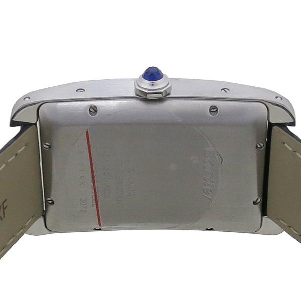 Cartier(까르띠에) WSTA0018 탱크 아메리칸 워치 라지 오토매틱 가죽밴드 시계 [강남본점] 이미지5 - 고이비토 중고명품