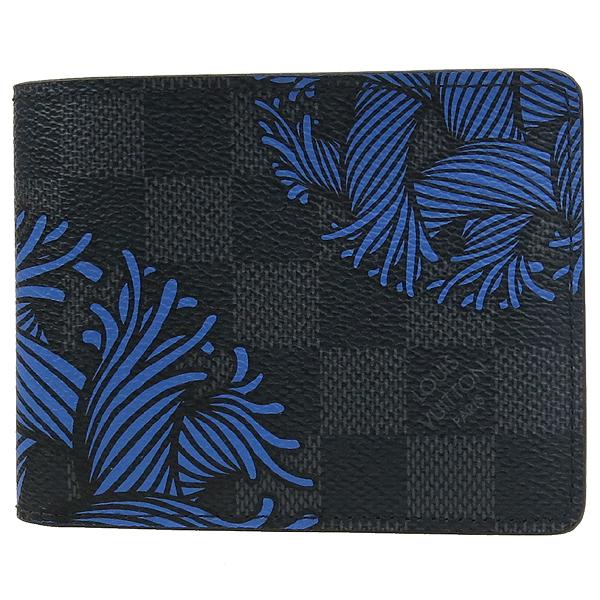 Louis Vuitton(루이비통) N41679 다미에 그라피트 로프 패턴 캔버스 슬렌더 반지갑 [강남본점] 이미지2 - 고이비토 중고명품