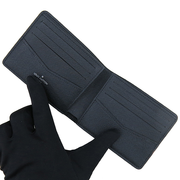 Louis Vuitton(루이비통) N41679 다미에 그라피트 로프 패턴 캔버스 슬렌더 반지갑 [강남본점] 이미지3 - 고이비토 중고명품