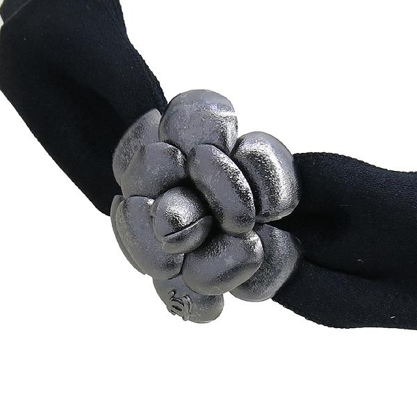 Chanel(샤넬) 까멜리아 리본 장식 헤어 밴드 [강남본점] 이미지3 - 고이비토 중고명품