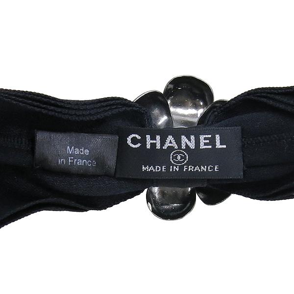 Chanel(샤넬) 까멜리아 리본 장식 헤어 밴드 [강남본점] 이미지5 - 고이비토 중고명품
