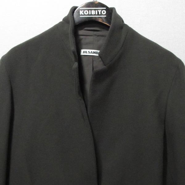 Jilsander(질샌더) 카키브라운 컬러 2버튼 여성용 모 자켓 [대구반월당본점] 이미지2 - 고이비토 중고명품